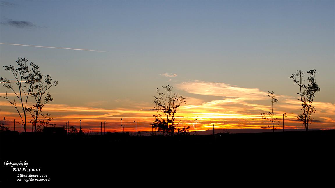 Morning sunrise, St. Peters. MO, Lakeside 370 RV Park